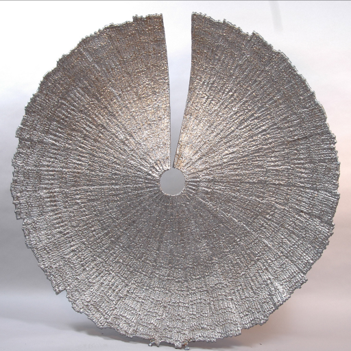 "Split Disk  52""diameter Mild Steel - Contact artist Robert Koch"